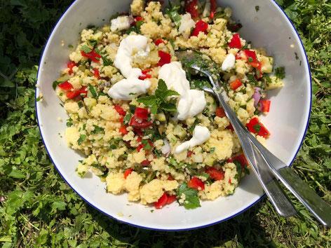 Lauwarme Salate