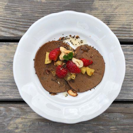 Pancakes mit Hanf-Protein