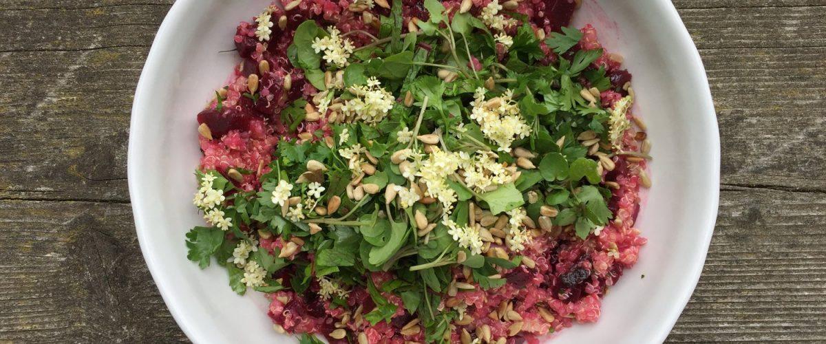 Quinoa-Rote Rüben-Salat