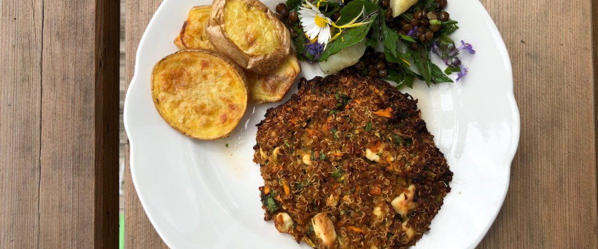 Quinoa-Zucchini-Karotten-Laibchen