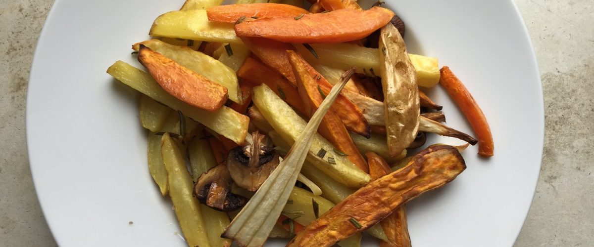 Schnelles Ofen-Gemüse