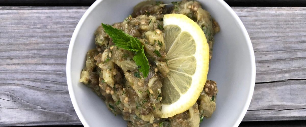 Zitronen Baba Ghanoush (nach Ottolenghi)