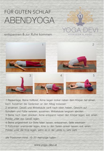 Gute Nacht Yoga