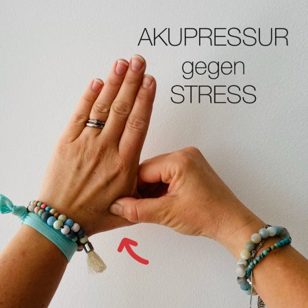 Weniger Stress mit Akupressur