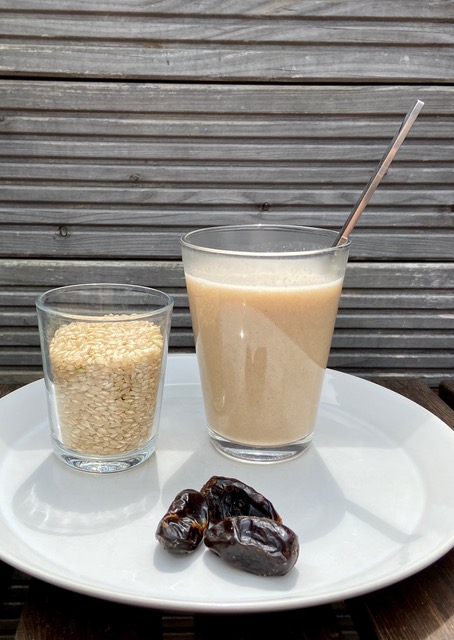 Ayurvedische Reismilch