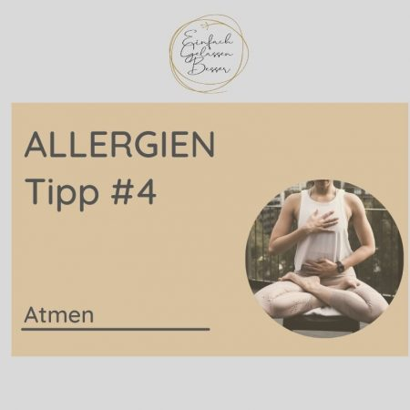 Allergie TIPP #4