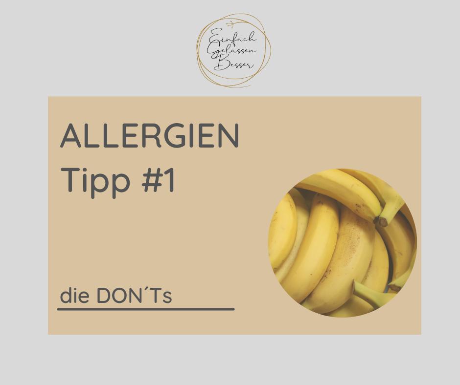 Allergie TIPP #1