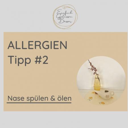Allergie TIPP #2