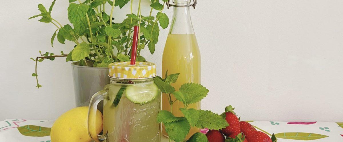 5 Elemente Tipps für den Sommer: Getränke