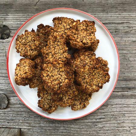 Happy Cookies (Hafer-Mandel-Kekse)